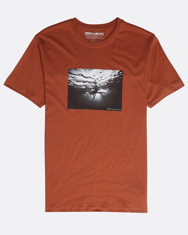 0 Focal T-Shirt Green N1SS13BIP9 Billabong