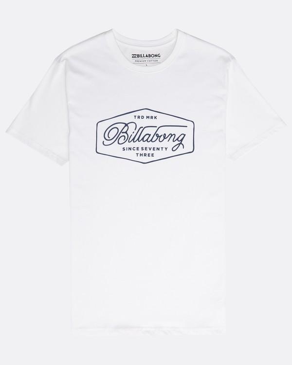 0 Trademark T-Shirt Weiss N1SS15BIP9 Billabong