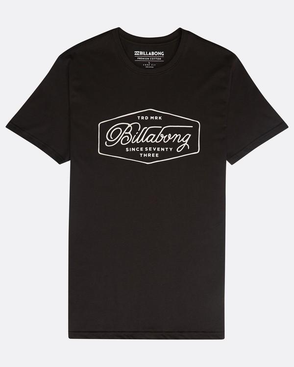 0 Trademark T-Shirt Negro N1SS15BIP9 Billabong