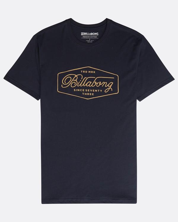0 Trademark T-Shirt Blau N1SS15BIP9 Billabong