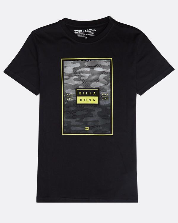 0 Tucked T-Shirt Schwarz N1SS16BIP9 Billabong