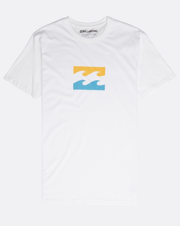 0 Team Wave Team T-Shirt Blanco N1SS19BIP9 Billabong