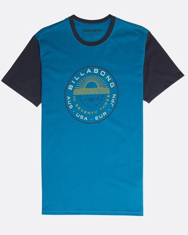 0 Rock Point T-Shirt Blue N1SS20BIP9 Billabong