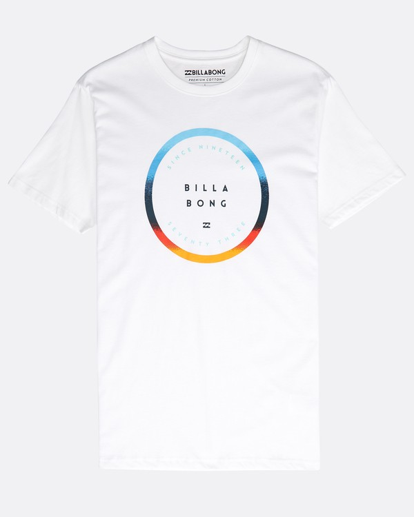0 Rotated T-Shirt Blanco N1SS21BIP9 Billabong