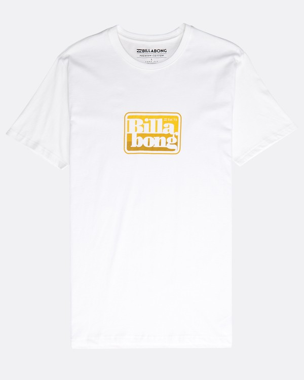 0 Keyline T-Shirt White N1SS22BIP9 Billabong