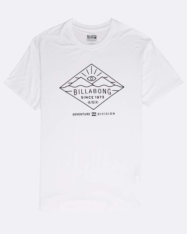 0 Watcher Tee Ss Blanc N1SS36BIP9 Billabong