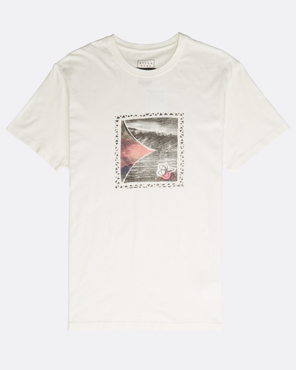 0 Happy Place T-Shirt Beige N1SS39BIP9 Billabong