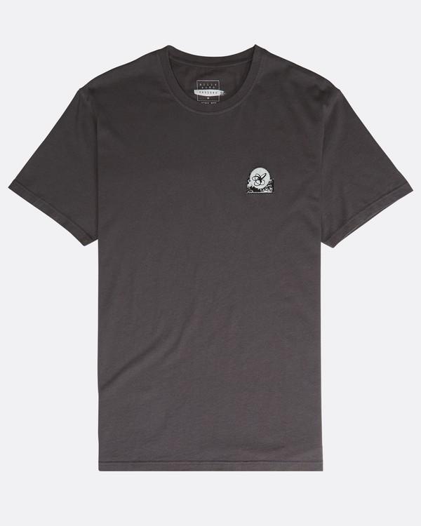 0 Pigment Line T-Shirt Grau N1SS40BIP9 Billabong