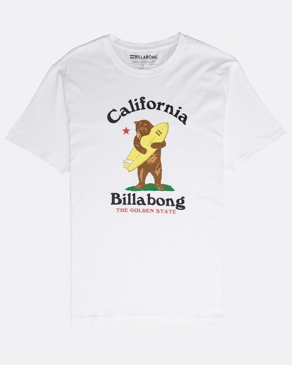 0 Golden State T-Shirt Blanc N1SS50BIP9 Billabong