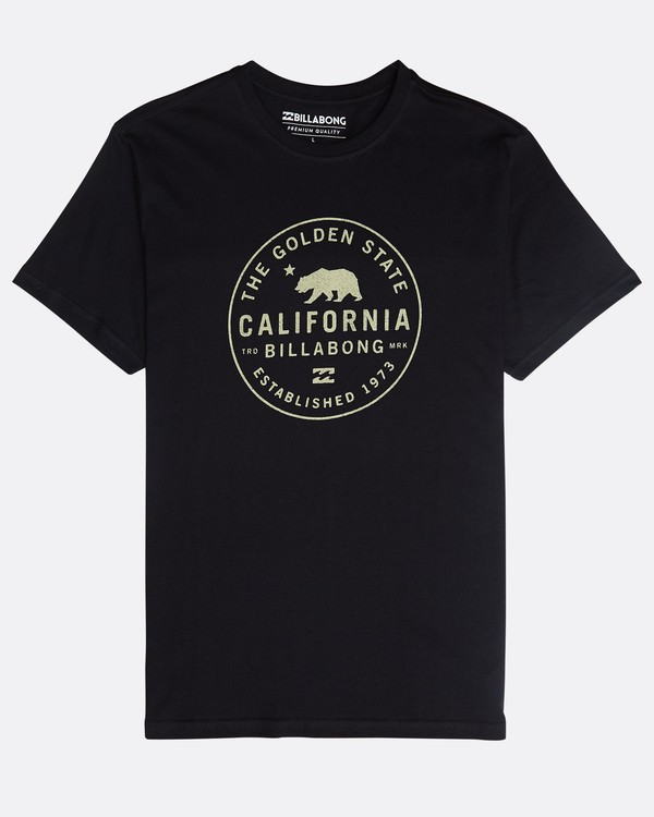 0 Golden State T-Shirt Schwarz N1SS50BIP9 Billabong