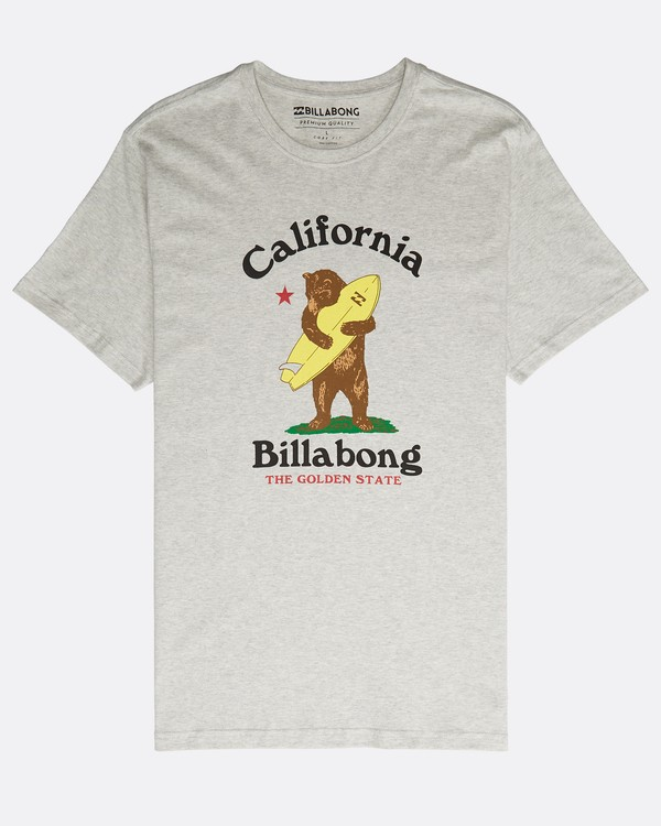 0 Golden State T-Shirt Gris N1SS50BIP9 Billabong