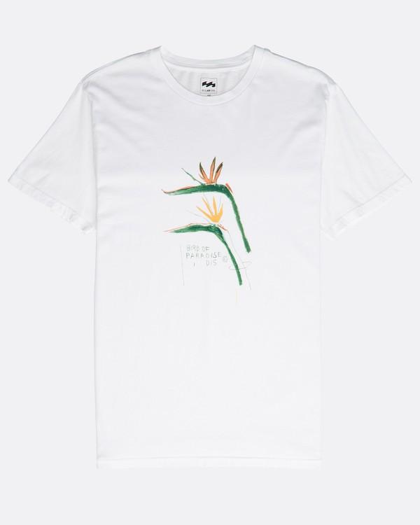 0 Birdofparadise T-Shirt White N1SS54BIP9 Billabong