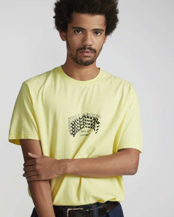 0 Siren T-Shirt Yellow N1SS62BIP9 Billabong
