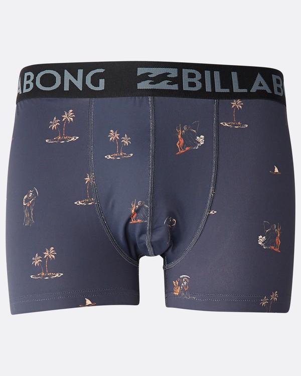 0 Ron Underwear Gris N1UN10BIP9 Billabong