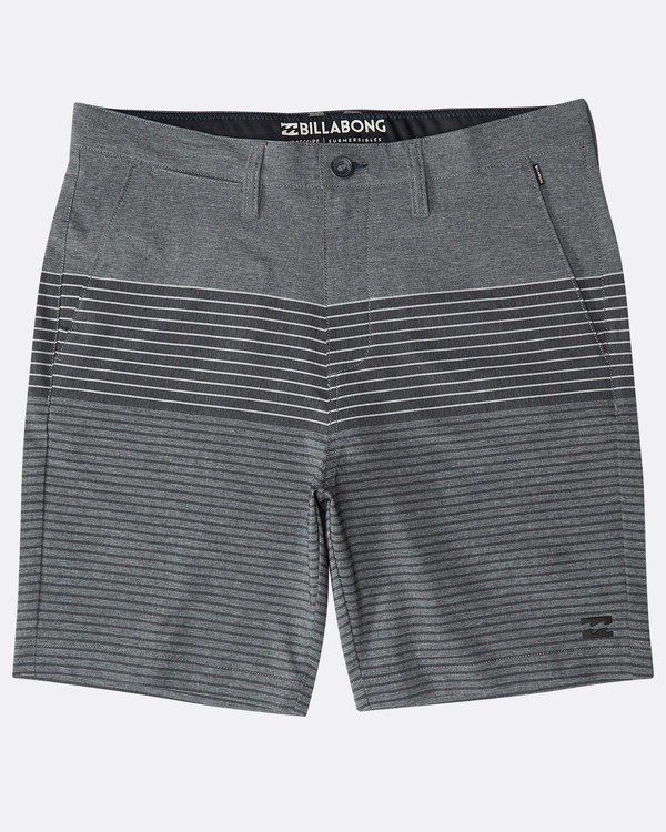 0 Crossfire X Stripe Submersibles Shorts Grau N1WK03BIP9 Billabong