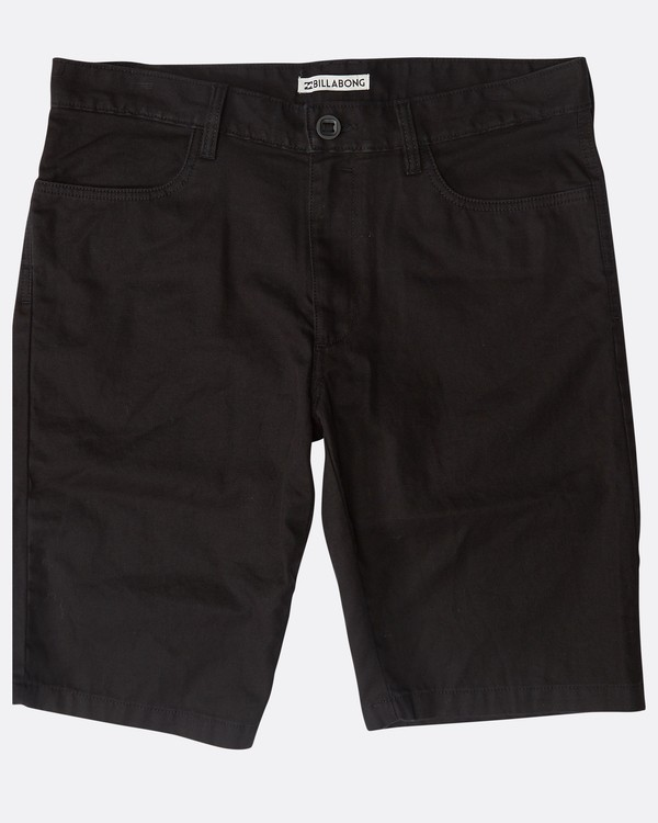 0 All Day Chino Shorts Schwarz N1WK12BIP9 Billabong