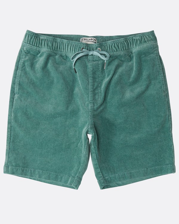 0 Larry Layback Corduroy Shorts Grün N1WK18BIP9 Billabong