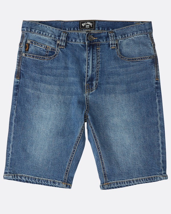 0 Outsider Denim Shorts Blau N1WK23BIP9 Billabong