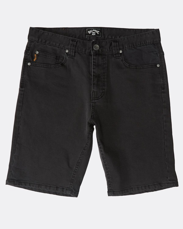 0 Outsider Denim Shorts Negro N1WK23BIP9 Billabong