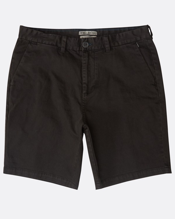 0 New Order Wave Wash Shorts Noir N1WK26BIP9 Billabong