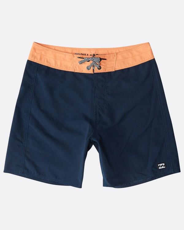 0 Boys' All Day Originals Boardshorts Bleu N2BS11BIP9 Billabong