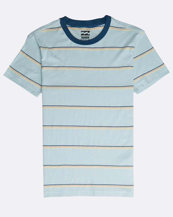 0 Boys' Die Cut Stripe T-Shirt Azul N2JE04BIP9 Billabong