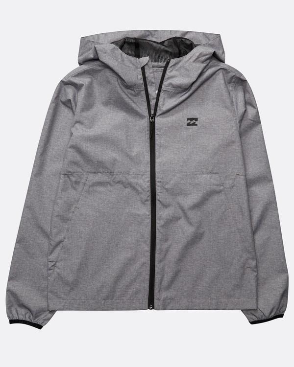 0 Boys' Transport Windbreaker Sweatshirt Gris N2JK01BIP9 Billabong