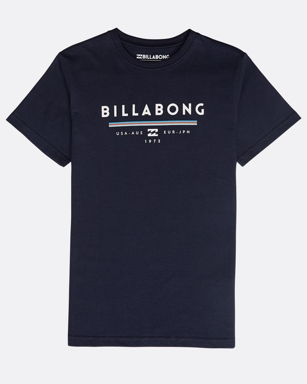 0 Boys' Unity T-Shirt Azul N2SS01BIP9 Billabong