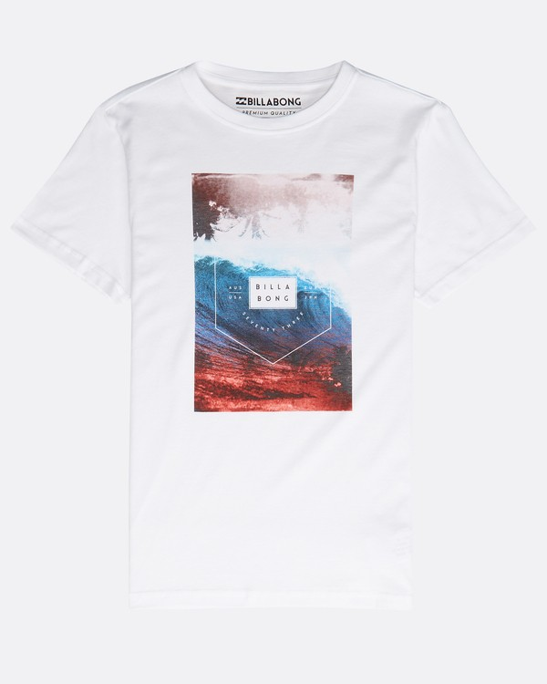 0 SECTION TEE SS BOY Blanco N2SS03BIP9 Billabong