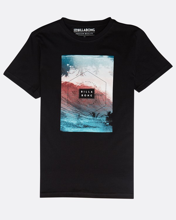 0 Section Tee Ss Boy Negro N2SS03BIP9 Billabong