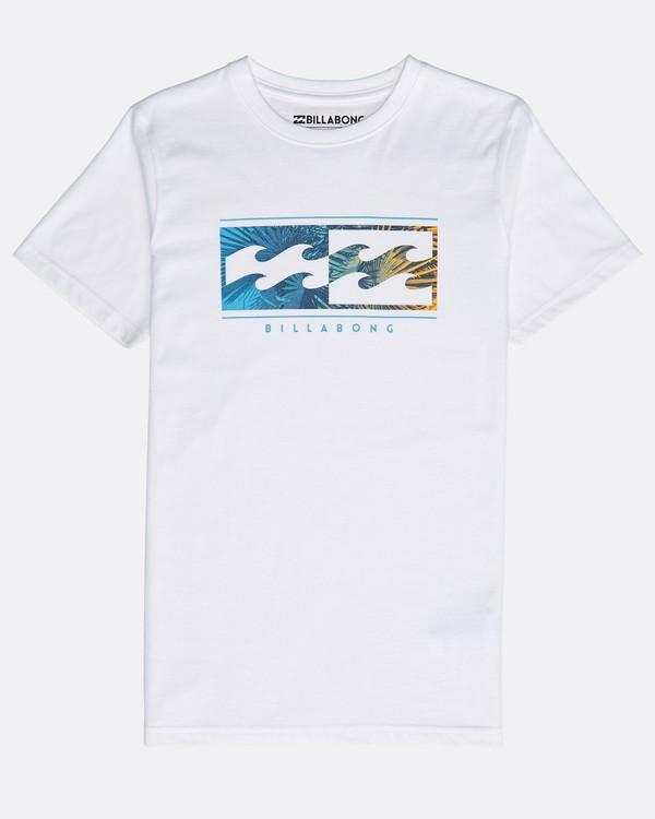 0 Boys' Inversed T-Shirt Blanc N2SS04BIP9 Billabong