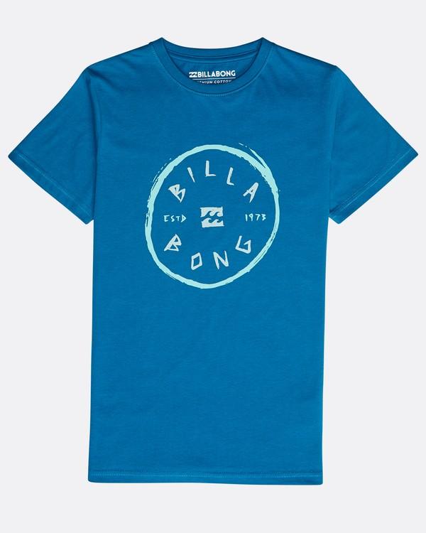 0 Boys' Rotohand T-Shirt Blau N2SS10BIP9 Billabong