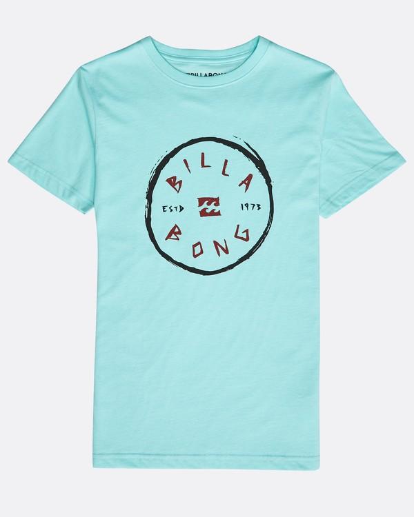 0 Boys' Rotohand T-Shirt Verde N2SS10BIP9 Billabong