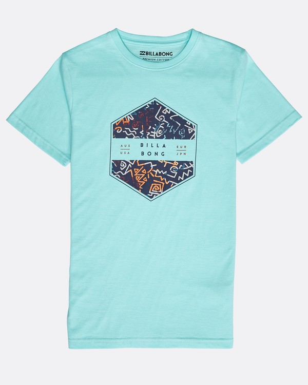 0 Boys' Access T-Shirt Verde N2SS11BIP9 Billabong