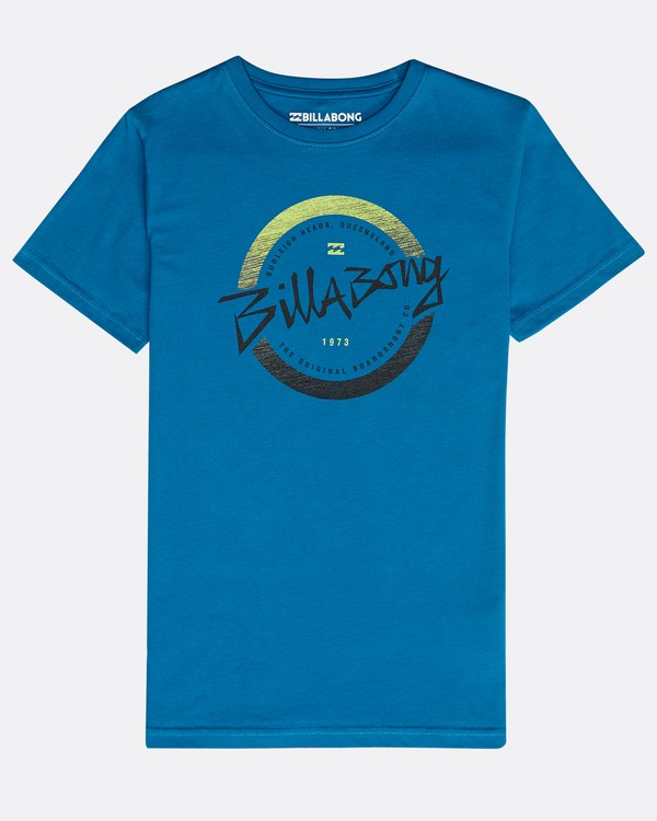 0 Boys' Eighty T-Shirt Blue N2SS13BIP9 Billabong