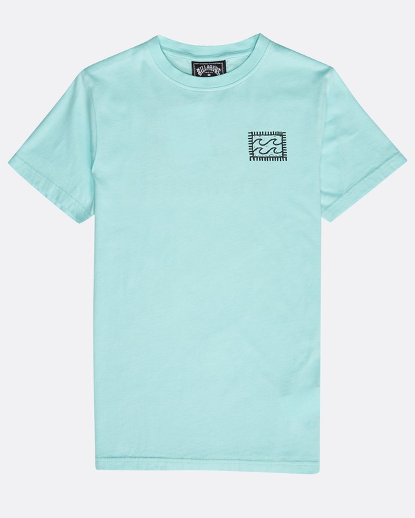 0 Boys' Nairobi T-Shirt Grün N2SS16BIP9 Billabong