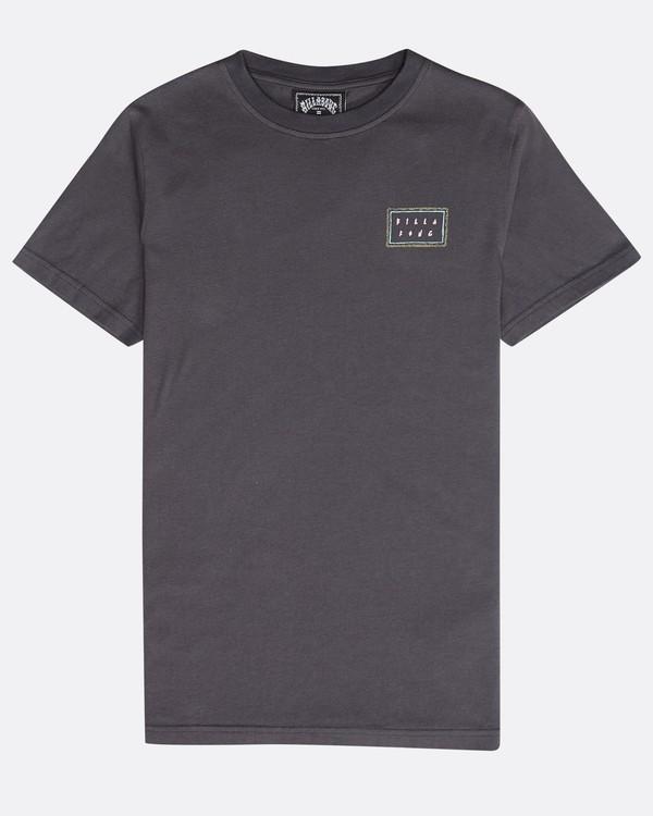 0 Boys' Nairobi T-Shirt Gris N2SS16BIP9 Billabong