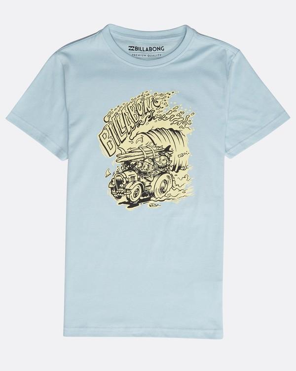 0 Boys' Surf Attack T-Shirt Azul N2SS18BIP9 Billabong