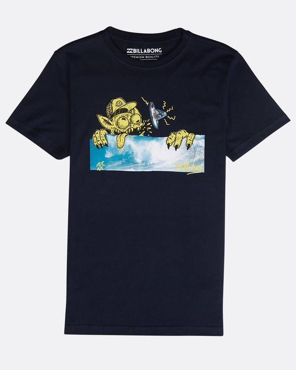 0 Boys' Psyko Air T-Shirt Azul N2SS20BIP9 Billabong