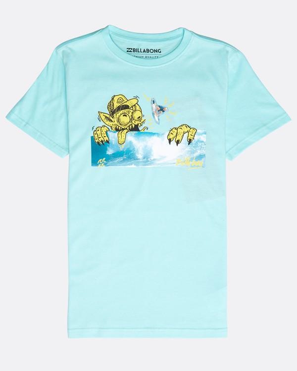 0 Boys' Psyko Air T-Shirt Verde N2SS20BIP9 Billabong