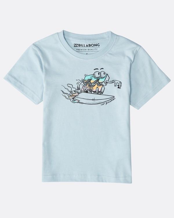 0 Boys' Kill Wave T-Shirt Azul N2SS21BIP9 Billabong