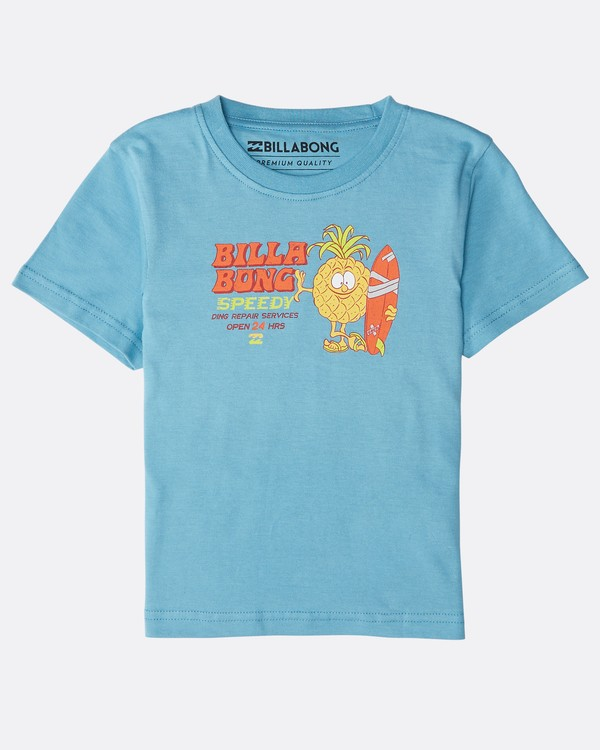 0 Boys' Speedy T-Shirt Blau N2SS22BIP9 Billabong