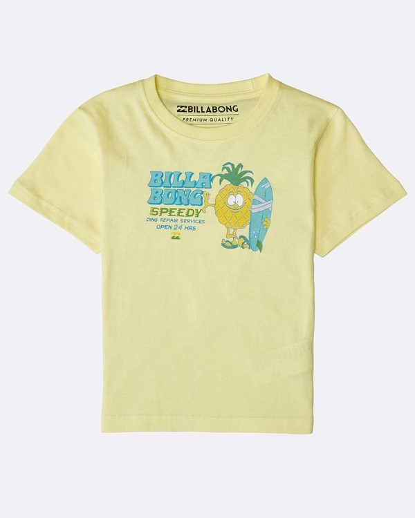 0 Boys' Speedy T-Shirt Amarillo N2SS22BIP9 Billabong