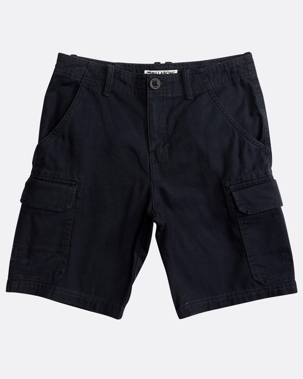 0 Boys' All Day Cargo Shorts Bleu N2WK06BIP9 Billabong