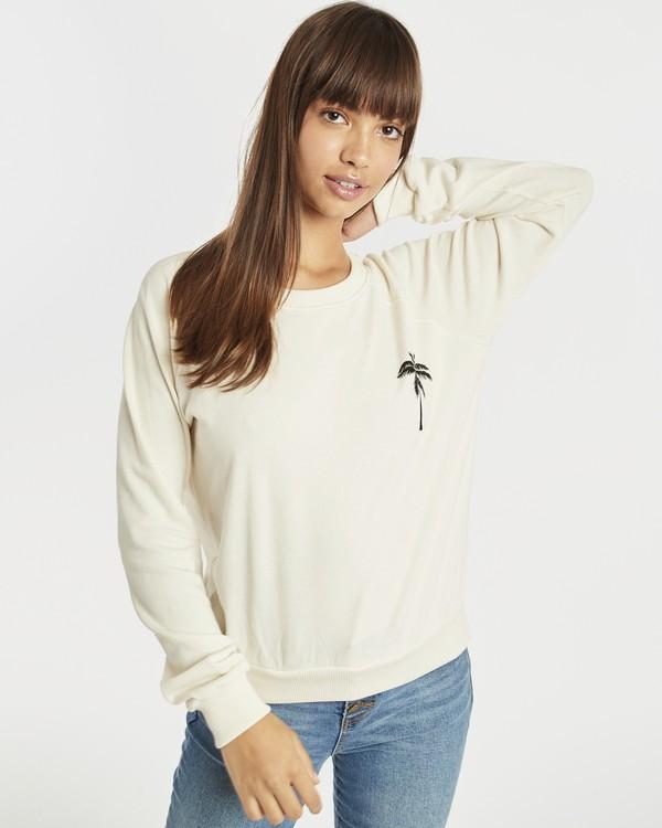 0 Laguna Beach Sweatshirt Blanc N3CR04BIP9 Billabong