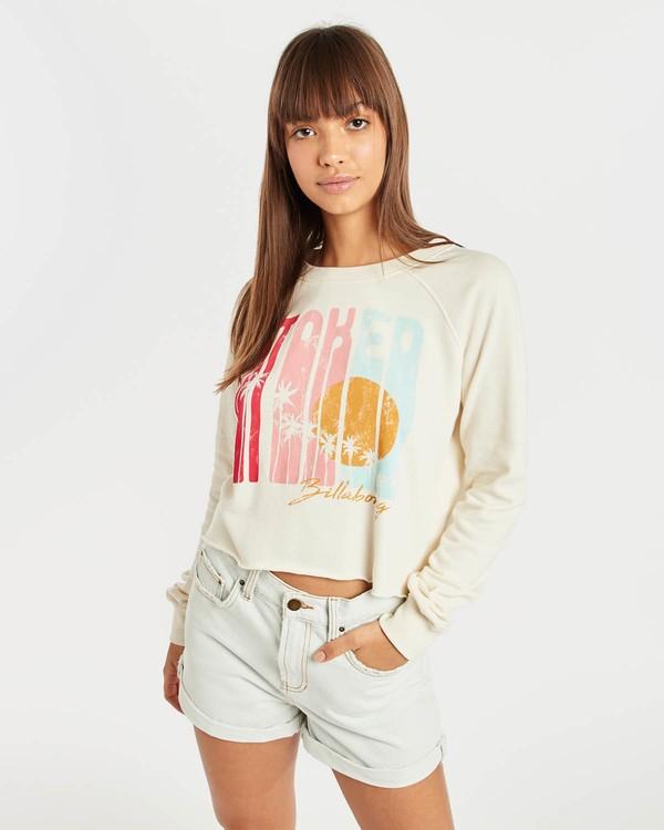 0 Crop Sweatshirt Beige N3CR05BIP9 Billabong