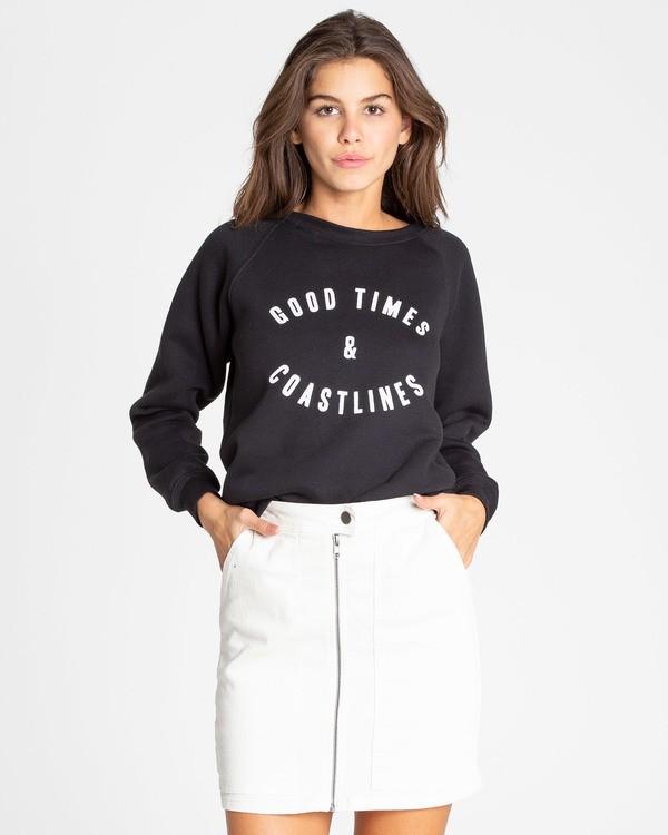 0 Good Times Sweatshirt Noir N3CR10BIMU Billabong
