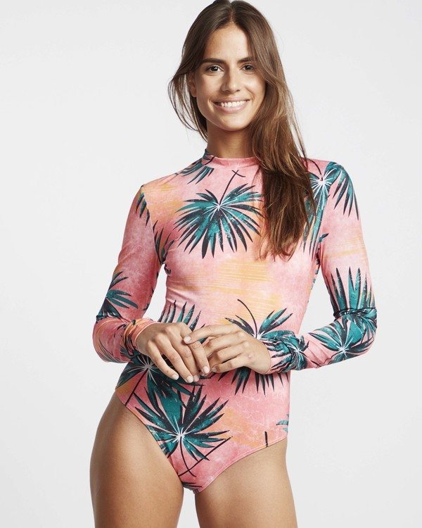 0 Palm Daze Bodysuit Rashguard  N3GY05BIP9 Billabong