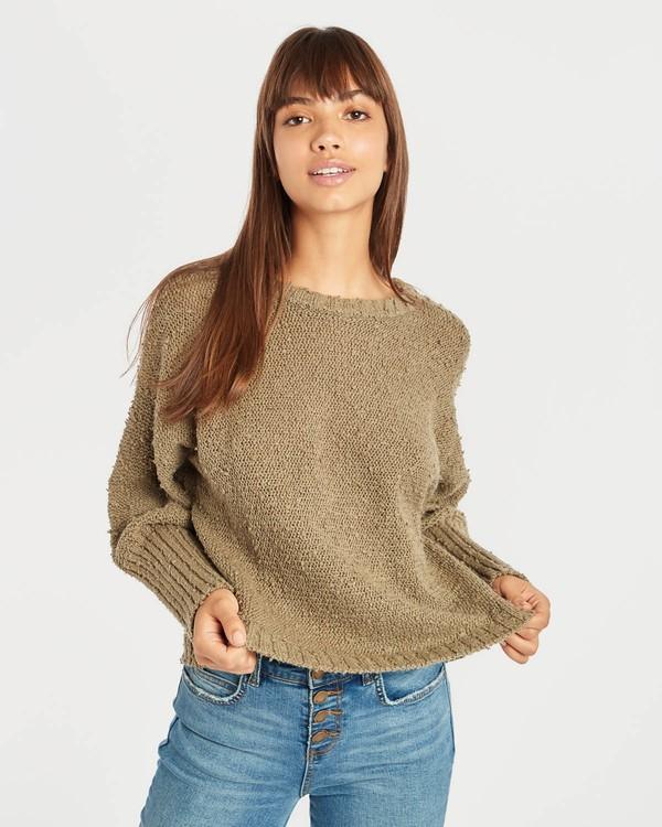 0 Easy Going Sweater Vert N3JP02BIP9 Billabong