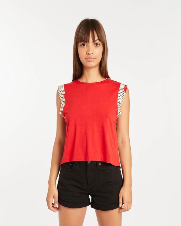 0 Karma Shirt Rot N3KT04BIP9 Billabong